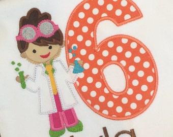 Girls  Mad Scientist Birthday, Science Birthday, Mad Scientist,