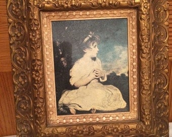 Vintage Age of Innocence Joshua Reynolds Framed Print