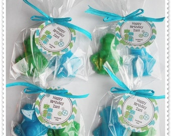 20 Robot Soap Party Shower Favors (Tags Included-40 Soaps)