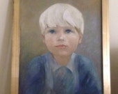 Little Boy, 1960's Painting