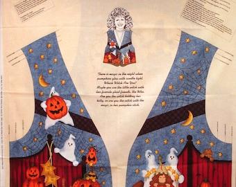 Halloween Vest Fabric Panel