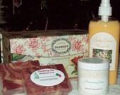 Bath & Body Gift Set Boxed
