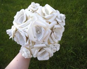 Book Paper Bridal Wedding Bouquet bridal bouquet