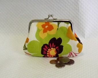 Change Purse - Coin purse - Floral Change Purse - Floral Coin Purse