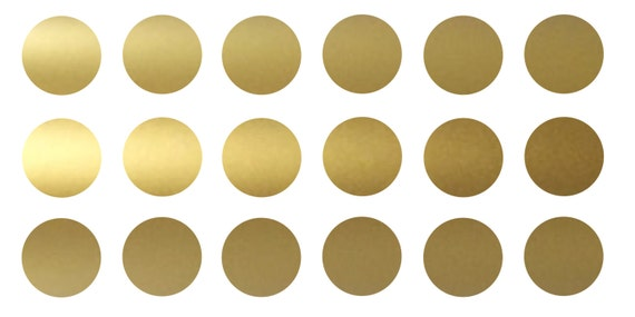 metallic gold vinyl wall circle polka dot decals. Black Bedroom Furniture Sets. Home Design Ideas
