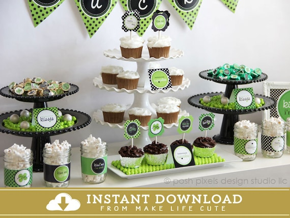 ST. PATRICK'S Day - Printable St. Patty's Party Collection - DIY So Lucky Collection - Instant Download - by Make Life Cute