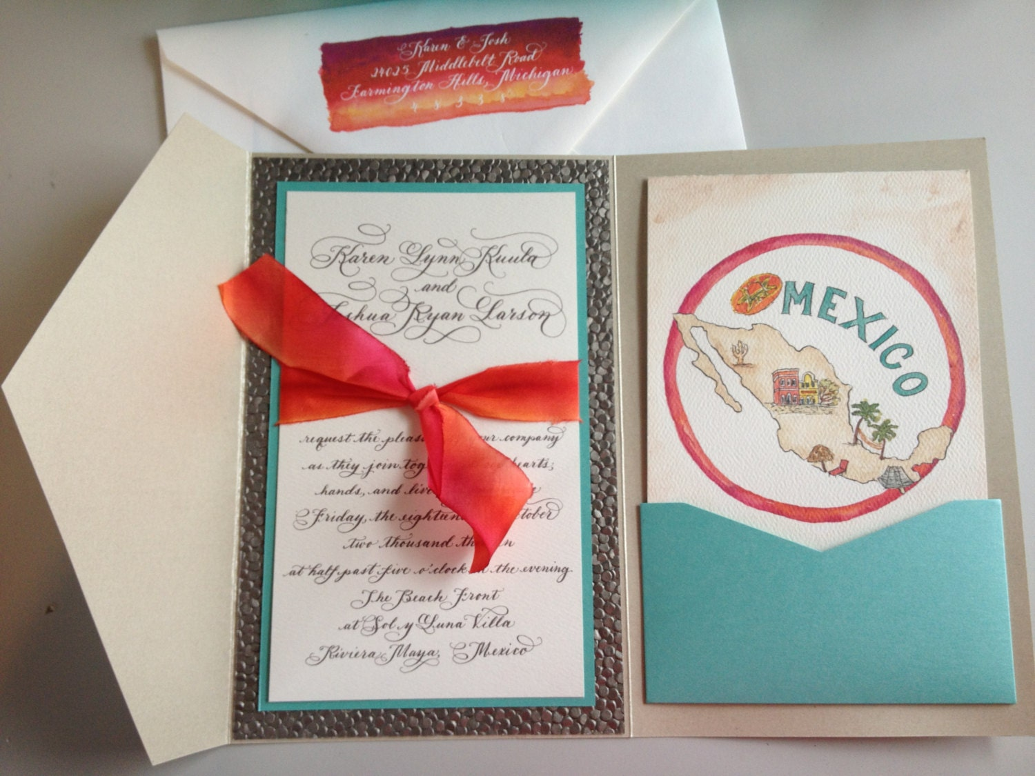 beach wedding – OnePaperHeart – Stationary & Invitations