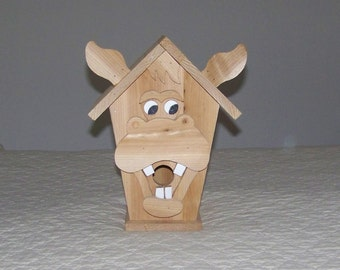 Hee Haw Donkey Birdhouse