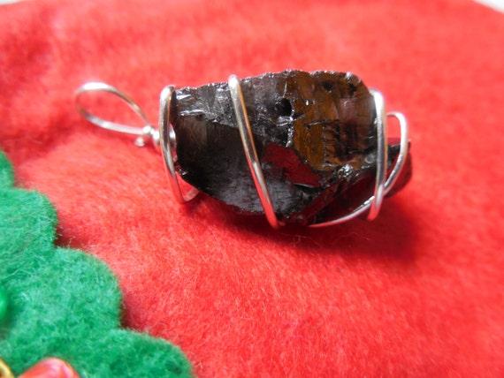 anthracite coal pendant