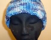Blue Multi Color Hat