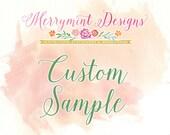 Custom Wedding Invitation Sample Set