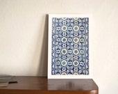 Pattern tiles Lisbon azulejos photographic print poster