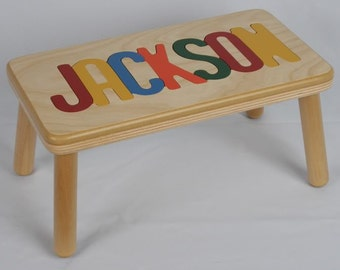 Popular Items For Name Puzzle Stool On Etsy