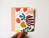 Card // Matisse is my Muse // A2 size  // Assorted envelope colors available