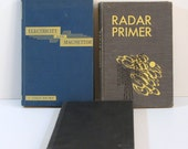 Vintage Technical Text Books, Electricity, Magnetism, Strength of Materials, Radar, Physics, Engineering
