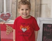 GreatStitch Hunk of Burning Love Valentines Shirt