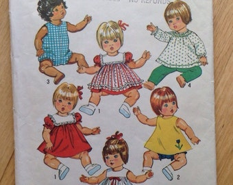 Vintage Simplicity 5947 Doll pattern