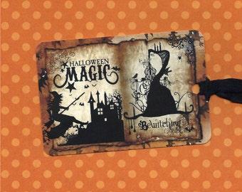 Halloween Tags, Trick or Treat, Halloween Magic