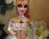 RESERVED 4 MELISSA ooak barbie club dancer
