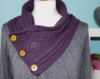 Marilyn Cowl PDF knitting pattern