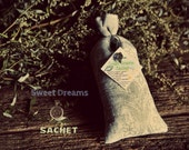 Sweet Dreams Organic Sachet with Mugwort and Magic