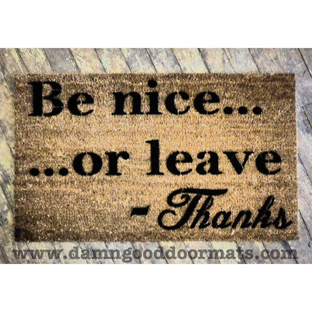 Doormats funny rude images - Offensive doormats ...