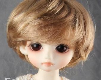 """Fatiao - New Dolls Wig Dollfie Yo-SD 1/6 BJD 6-7"""" size Ocher"""