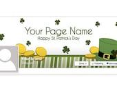 St. Patrick's Day Facebook Timeline Cover - 2