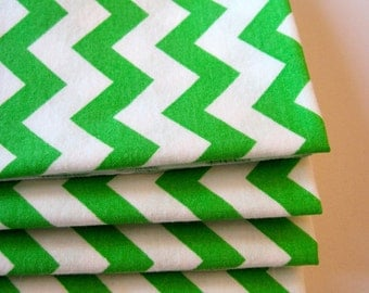Green Chevron Napkins St Patricks Day Napkins Green Napkins Green and White  Zig Zag Bright Green Napkins Light Green Chevron Napkins