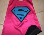 Superman/Supergirl Cape
