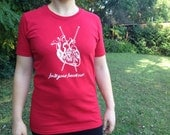 Clearance**Knit Your Heart Out Original Design Knitting Tee Shirt Ladies *SALE*