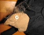 Hunchback, Primitive Halloween Table Sitter, Igor, Prim Doll