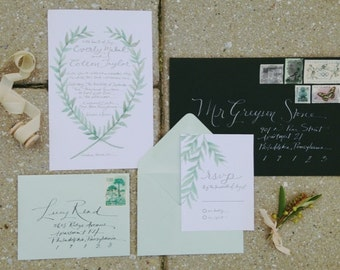Laurel Invitation Suite