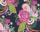Art Gallery - Petal and Plume Collection by Bari J - VOILE Nib and Pluck in Zinna - Half Yard