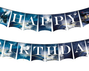 Polar Express Birthday Banner -- Printable Party Decor, Polar Express Party