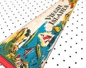 Vintage Virgin Islands Souvenir Felt Pennant (1977)