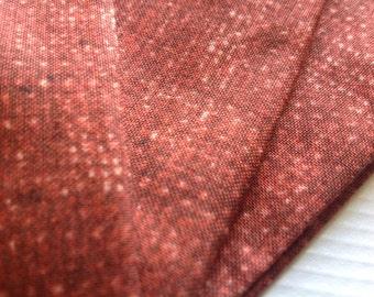 Cloth Napkins - Faux Burlap - Paprika - 100% Cotton