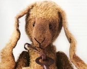 PDF Tutorial Jointed Primitive  Mohair Rabbit and Pattern On-Line: 90 Color Pages