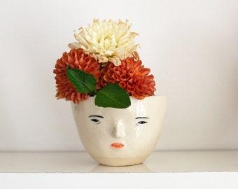 Face Pot - Girl
