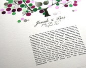 Modern Ketubah Tree of Life and Love Birds, personalized Ketubah, abstract Tree of Life