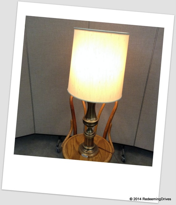 brass table lamps for living room items similar to classic vintage brass living room table 25223