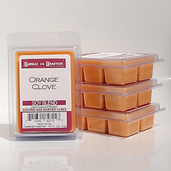 Orange Clove Scented Wax Cubes