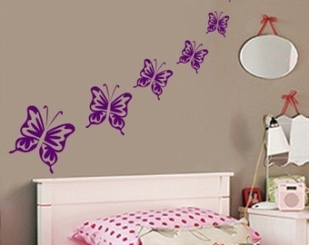 Wall Decal BUTTERFLIES Vinyl Wall Decal SALE 20 Buckaroos
