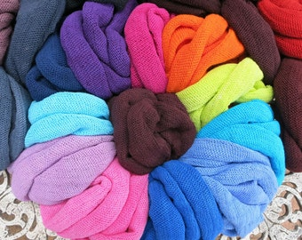 SALE 10 Summer Headband Headwraps Bright Light Cotton single colors - MYSTERY Lucky Dip 10 Light Midi wraps