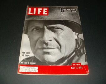 Vintage Life Magazine May 12 1952 - Treasure Trove of Vintage Ads - Art  Scrapbooking Paper Ephemera