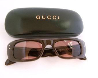 GUCCI  Vintage Eyeglass Frames   90s  Optical frames style gg2414s  Italy with case