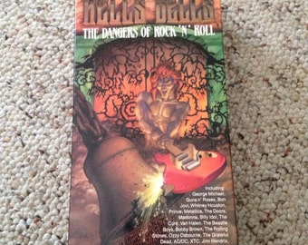 Hells bells: the dangers of rock and roll vhs tape
