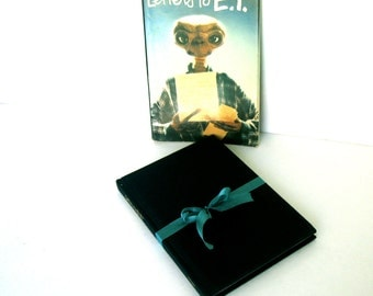 Letters to E.T. Introduction by Steven Spielberg, Collectors Item, Book Collector, Extra-Extraterrestrial, E.T. Fan Club, Vintage Book