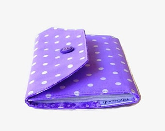 Purple Needle Wallet - Lavender Needle Organizer - Sewing Accessory