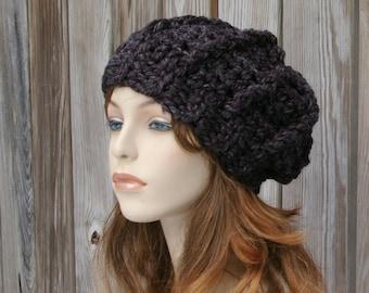 Crochet Pattern -  Chunky Slouchy Hat - Crochet Hat Pattern Instant Download PDF